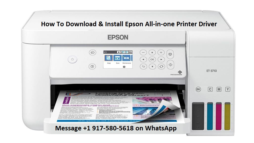 Download Epson All-in-one Printer Driver