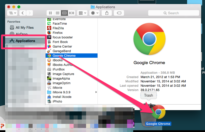 Reinstall Google Chrome Browser