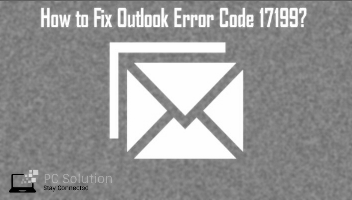 outlook error code 17199