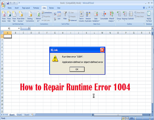 Runtme Error 1004 in Excel