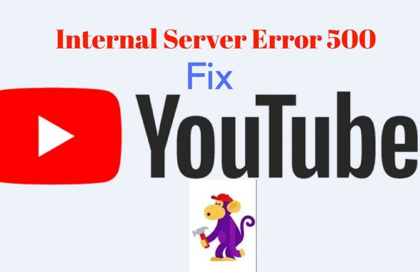 How to fix youtube 500 error