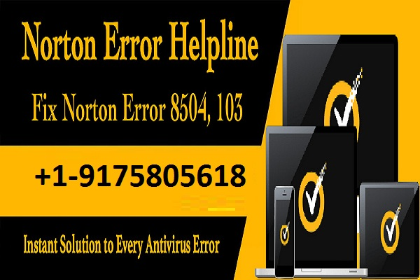 Norton error 8504 103