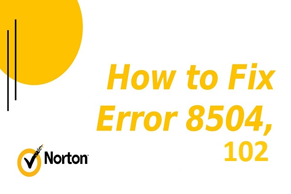 norton error 8504 102