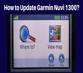 Garmin Nuvi 1300 update