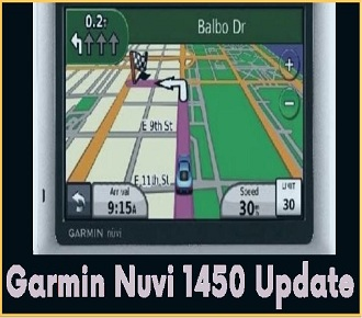 how to free update Garmin Nuvi 1450