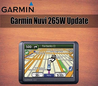Garmin Nuvi 265W update