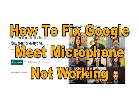 Google Meet Microphone Not Working