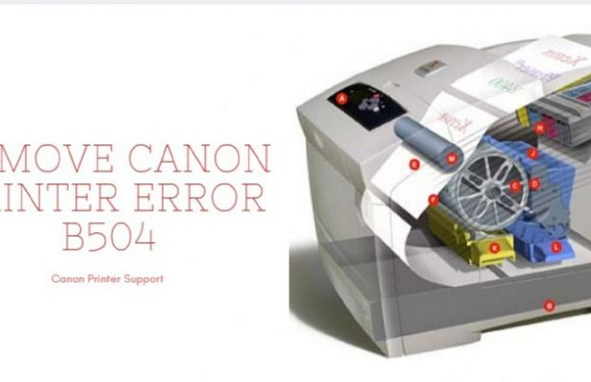 Canon Printer Error b504