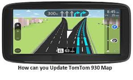 Update TomTom Go 930 Map