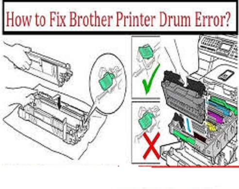 Troubleshoot Brother Printer Drum Error
