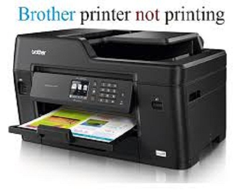 troubleshoot brother printer not printing