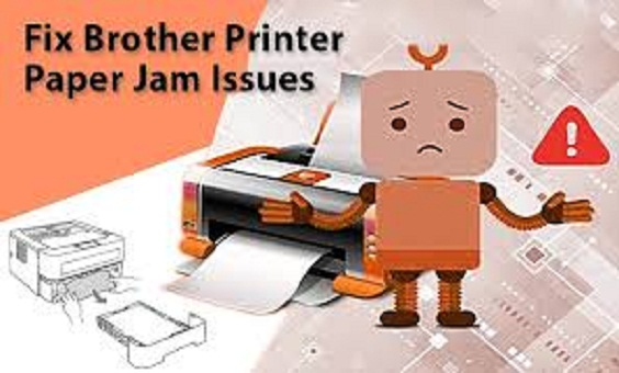 Troubleshoot Brother Printer Paper Jam